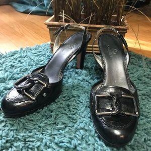 COLE HAAN Moccasins Slingback Pumps Shoes Heels 9